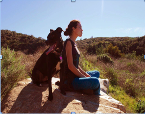 Women and Dog Hike