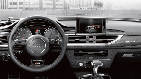 interior Audi Fuel saving